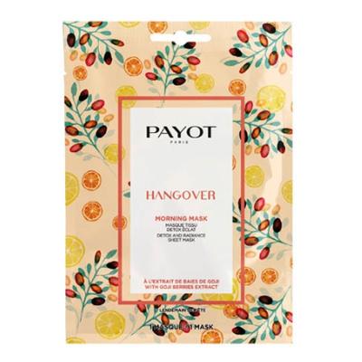 Payot Morning Masks Hangover Masque Tissu Detox Eclat